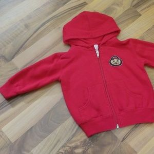 Other - Boys OSU Ohio State Red Brutus Buckeye Hoodie